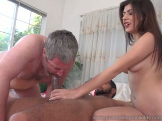 Audrey Royal and Husband Love Big Black Cock Inside Her