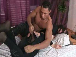 brunette kanaal, controleren doggystyle video-, kindje porno