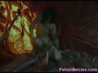Girl Trapped Inside Alien Monster!