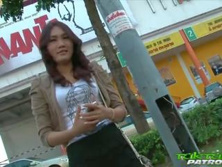 Sexy Shy Thai Girl Happy to Take on Big White Cock: Porn a5