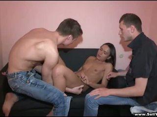 orale seks, sucking cock video-, ideaal vriendinnen scène