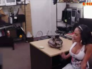 Big Boobs Latina Pawns Her Pussy And Banged With Pawn Man