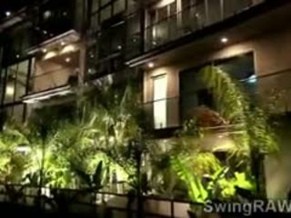 Party Gets Out Of Control In XXX Reality Show Of Swingers