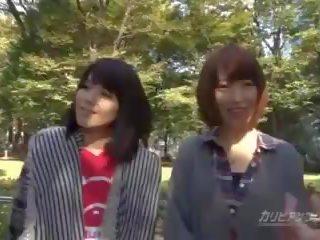 mooi japanse neuken, heet groepsseks video-, kijken knipperende thumbnail