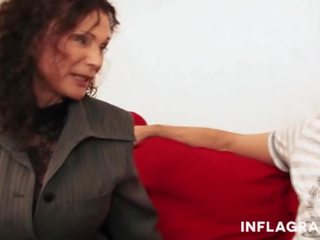 German Granny Gives Lessons, Free Infla Granti Porn Video f2