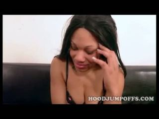 BLACK 19 YEAR OLD TEEN GETS A BBC IN HER FIRST XXX VIDEO