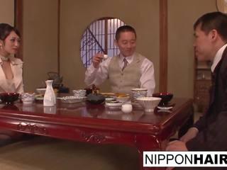 you japanese thumbnail, threeway, dinner sex