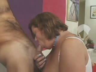 Hairy amateur mature in lingerie fucked