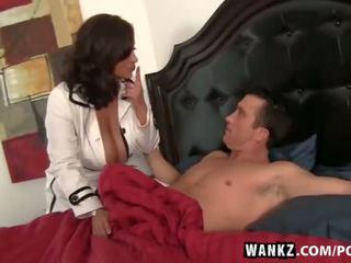 onlaýn brunette, more big boobs fun, cowgirl