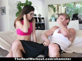 Therealworkout - καυλωμένος/η έφηβος/η ava taylor fucks αυτήν πούλμαν