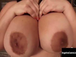 qualità brunetta ideale, grandi tette gratis, di più masturbarsi tutto
