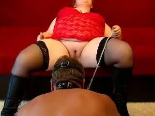 bbw porno, een femdom film