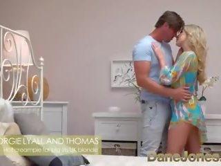 Dane Jones Big Tits Scottish Blonde Georgie Lyall: Porn a4