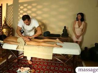 plezier brunette gepost, fantasie, echt massage