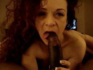 Nice Amateur Girl Having A Suck Job On A Wide Dick