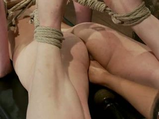 Sweet Juliette Hogtied And Violated By Isis Love1
