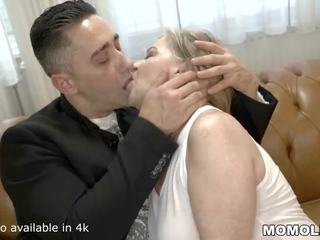 Saggy Titted Granny Fucks a Handsome Young Guy: HD Porn 45