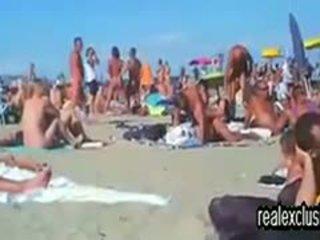 Public Nude Beach Swinger Sex In Summer 2015