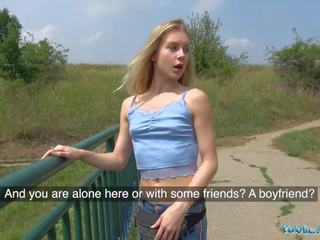 public thumbnail, more blonde film, fresh amateur