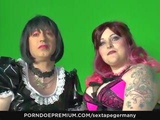Sextape Germany - Kinky Fetish Fuck with Crossdressing