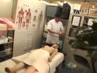 japonés canal, más voyeur escena, digitación escena