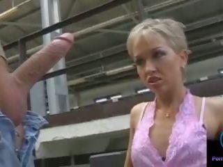 Monique מאונן thomas אבן ענק shaft outdoors: פורנו 33