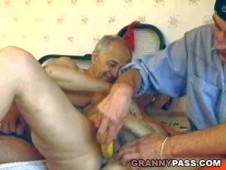 hq oma neuken, grannies video-, echt matures scène