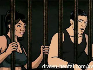Archer hentaý - türme sikiş with lana