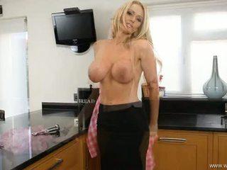 wielki striptease, blondynka nowy