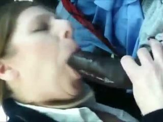 Mature amateur sucking on a BBC
