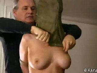 Bondage slut abused by her owner