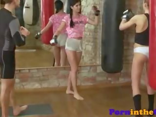 Athletic Babe Pussyfucked after Boxing Lesson: Free Porn 90