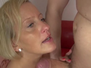 Dirty Mature Mother Seduced by Young Son, Porn f5