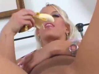onani, banan, fruits