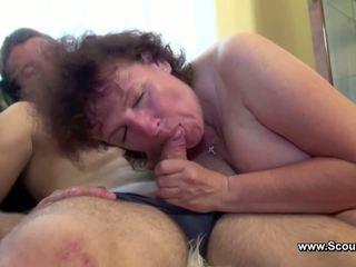 Anya elcsípett német fiú és kap szar -ban minden holes