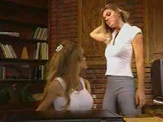 Dmvideos Hot Lesbian Blondes Ravage Each other: Porn ae