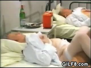 Fucking Old Pussy At A Nursing Home