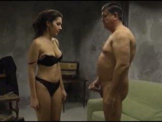 PI - Valentina Nappi fucking with an old man