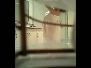 Teen Spied Through The Bathroom Window