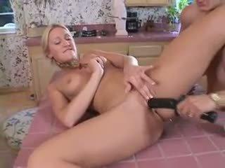 lesbian, kitchen, xhamster