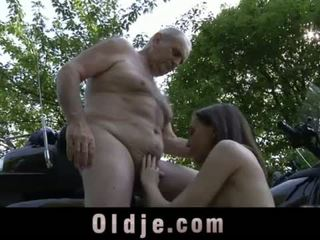 young, doggystyle, blowjob
