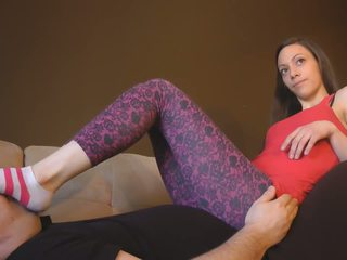 Feet Worship in Leggings, Free Babe Porn Video 88