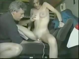 Old Man Young Girl and a Dildo, Free Girl Dildo Porn Video