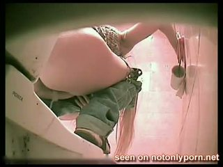 2182 - Russian Teen Peeing On Hidden Wc Cam