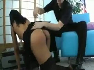 Skin Diamond Fucks Teacher With Strapon