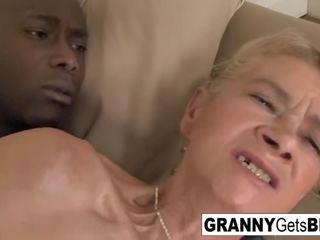 Vintage Anal Dp Granny