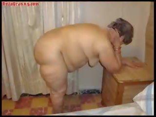 Hellogranny Amateur Latin Grandmas Compilation: HD Porn 8f