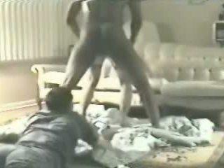 hoorndrager, kijken doggy style porno, nominale vrouw scène