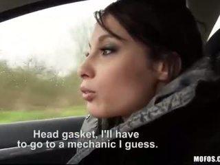 Adolescenta nikita bellucci pounded în the cab