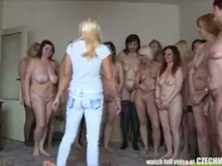 Lucky guy || GILF orgy